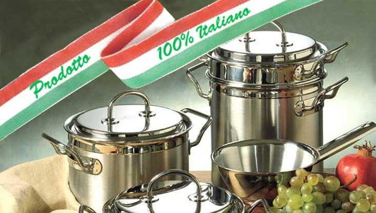 batteria pentole silga teknika cooking professional system - Batterie Da Cucina